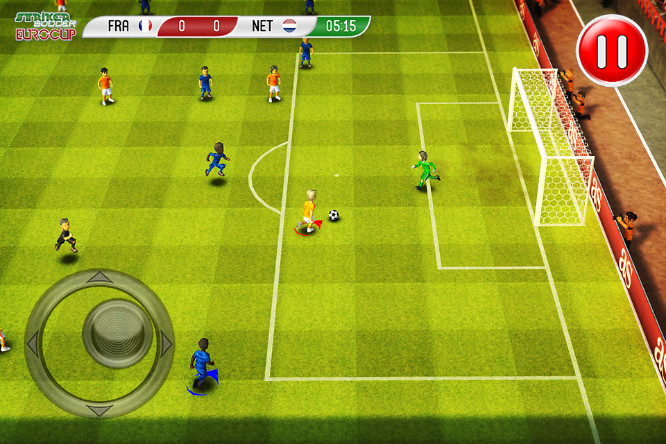 Screenshot Striker Soccer Euro 2012
